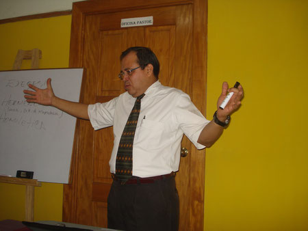 Pastor Oscar Arevalo