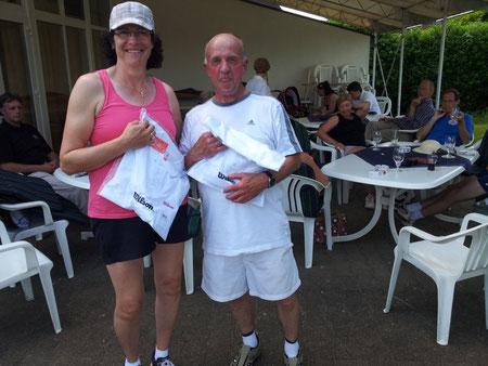 Die Sieger: Lissi Breilmann und Dieter Lange