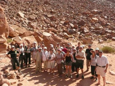 Ici les pierres qui roulent n'amassent pas mousse... Mais des touristes !