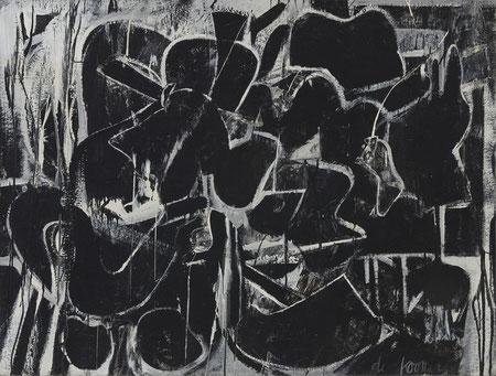 ウィレム・デ・クーニング「無題」(1948年)