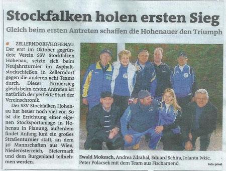 Bezirksblatt Jänner 2012