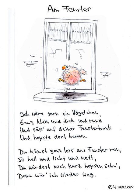 """Bildgeschichte """"Am Fenster"""""""