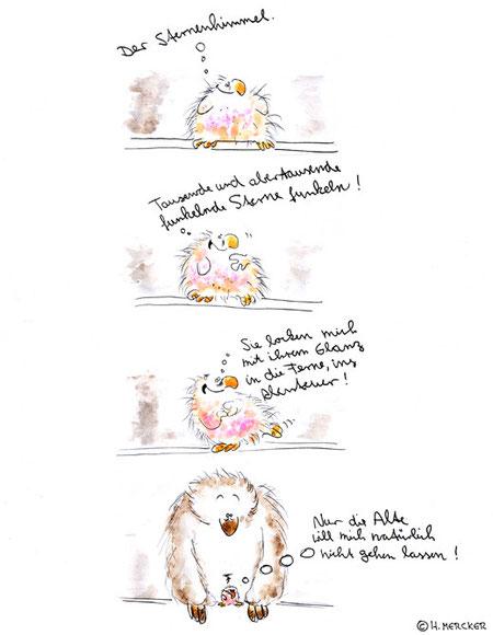 """Bildgeschichte """"Kleiner und Alte"""""""