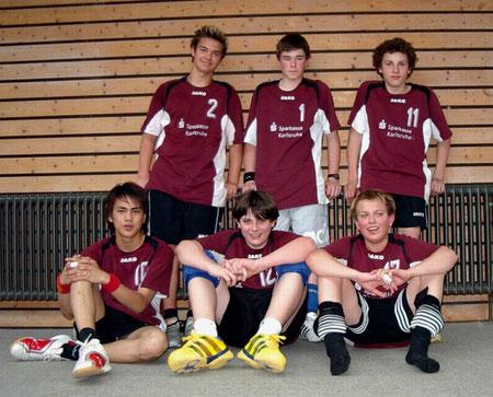 Sieger im Breisgau (v.l.n.r.): hinten: Oliver Werner, Tobias Raber, Tim Nagel, vorne: Kim Tiprangsee, Jan Grünfelder u. Danny Krimmel
