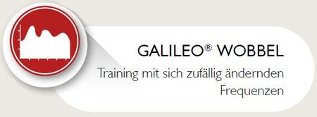 Galileo Vibrationshanteln mit patentierter Wobbelfunktion