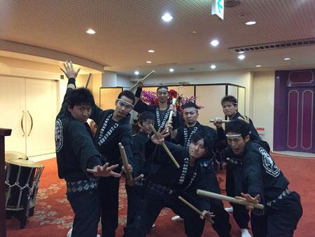 演奏中の撮影はできなかったため、演奏前のおバカな集合写真を載せておきます(^▽^)♪