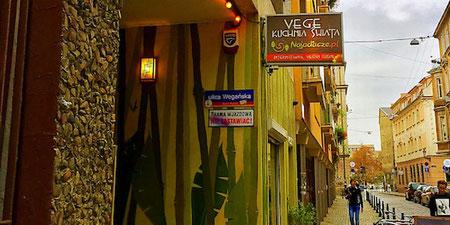 najadacze veggie restaurant wroclaw poland