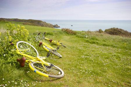 Location de vélo à Jersey, Guernesey et Sercq