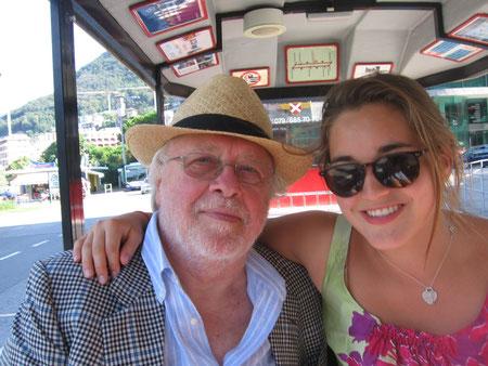 Con Pam Rubio a Lugano