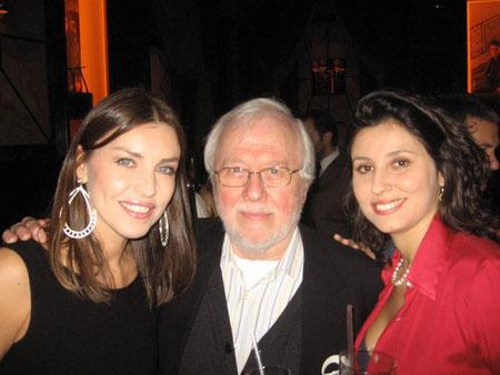 Con Patricia Denis Titeica e Silvia Delodovici al Principe di Savoia, Milano