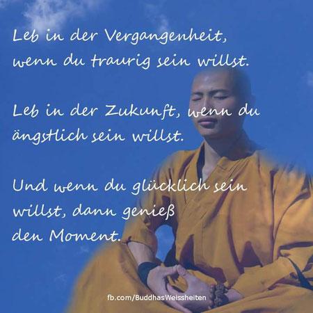Bild: Buddhistischer Mönch