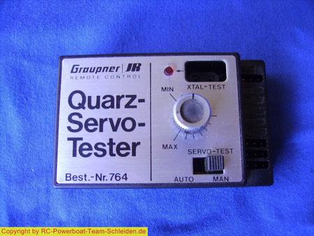 Das gleiche von Graupner, der hat auch noch einen Quarz Tester.