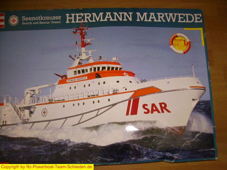 Hermann Marwede von Revell in 1:72