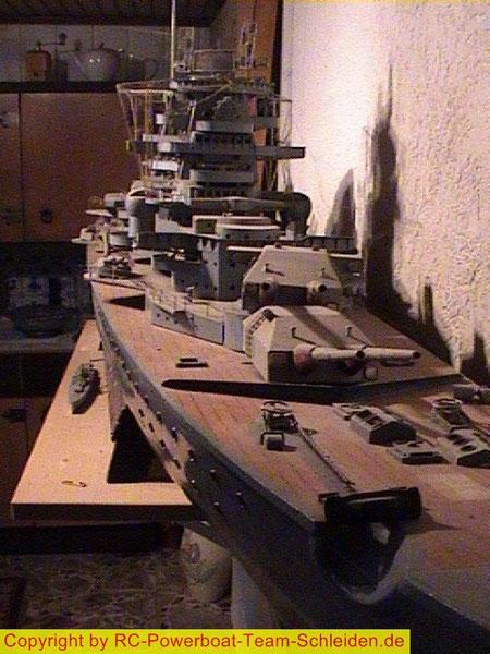 Großmodell Schlachtschiff Blücher