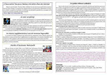 journal du relais août 2012 verso