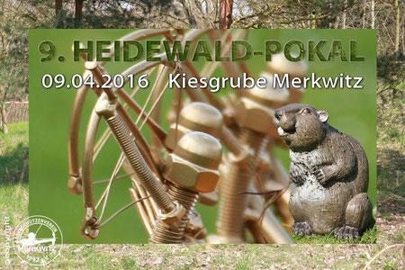 9. Heidewaldpokal 3D Turnier am 09.04.2016 in Merkwitz bei Wittenberg und Bad Schmiedeberg