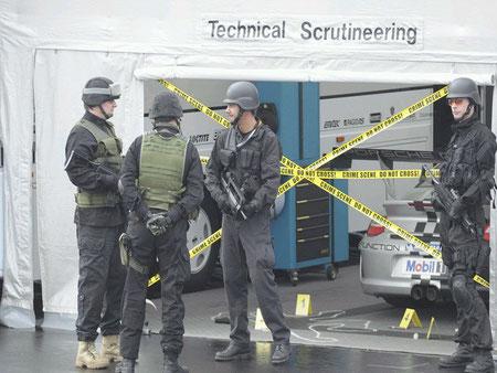 Der Tatort , Agentenjagd