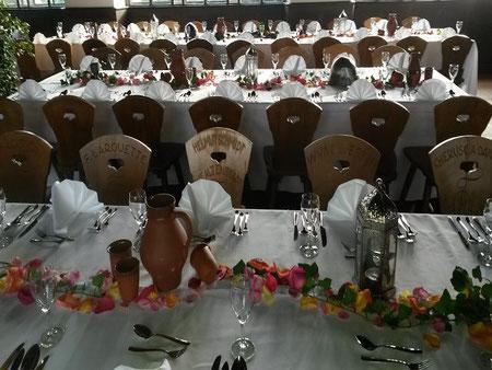 Historisches Abendessen