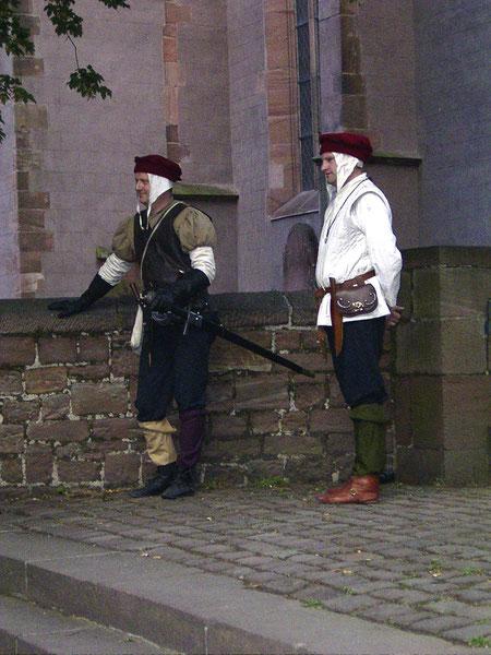 Stadtrallye mit historischen Personen