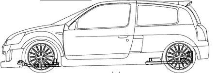 Renaul Clio V6, Platform View