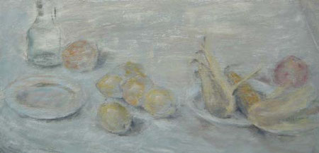 Bodegón con limones