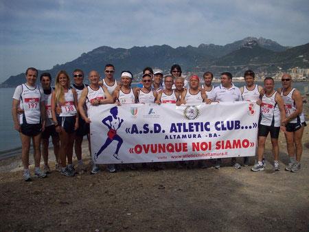 il gruppo degli Atleti partecipanti