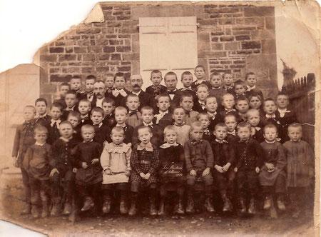 Année 1898 Ecole des garçons