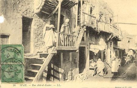 rue Abdelkader vers 1910