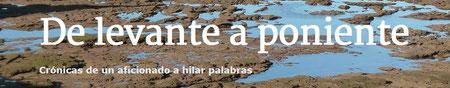 Blog personal del escritor Antonio Puente Torrecilla