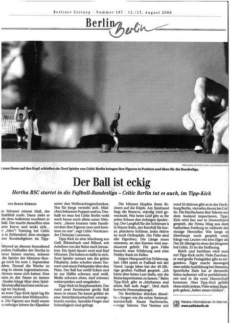 08.2000 Berliner Zeitung