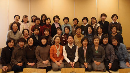 新年会 (木曽路にて)   (2012年1月)