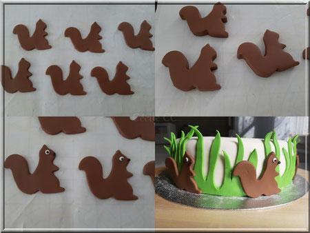 modelage ecureuil facile