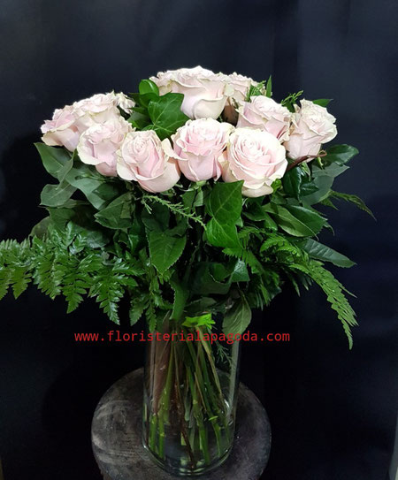Ramo de 15 rosas rosadas ref RR15