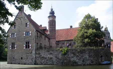 Die Hauptburg von der Rückseite