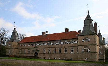 Ansicht des Hauptschlosses aus Norden