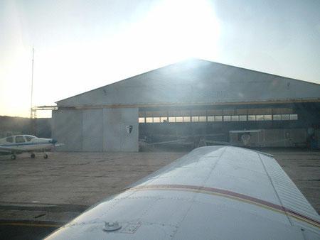 Aeroporto di Ampugnano - Hangar
