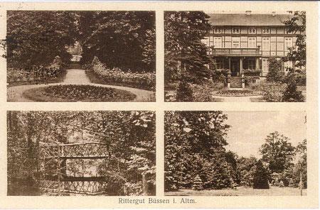 Postkarte  Gut Büssen