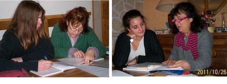Cedric élève de seconde, Camille élève de première : les cours se déroulent dans une atmosphère à la fois studieuse et détendue