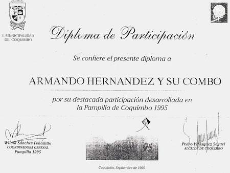 Armando Hernández en la Pampilla de Coquimbo