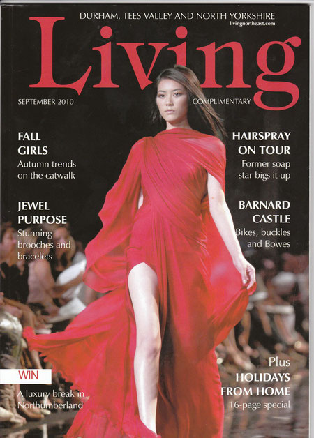 Living Magazine cover September 2010