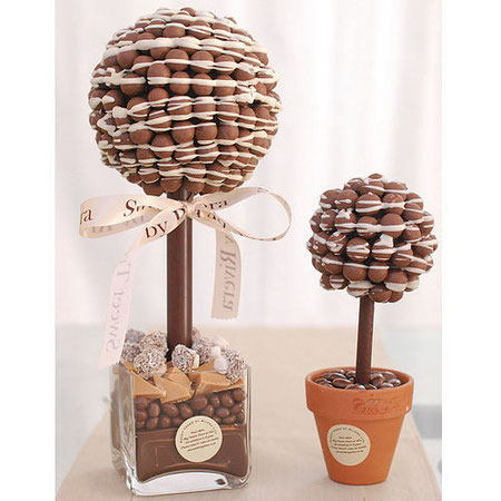 sweet tree wedding table decoration