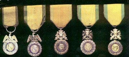 médaille militaire évolution