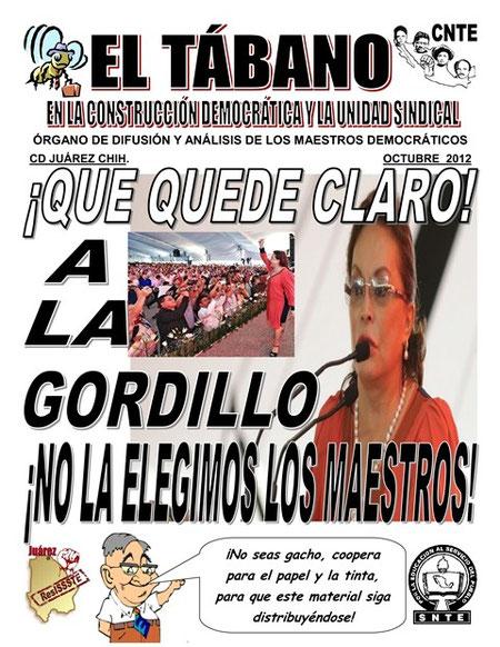 EL TÁBANO OCTUBRE 2012