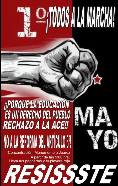 ¡¡ TODOS A LA MARCHA !!