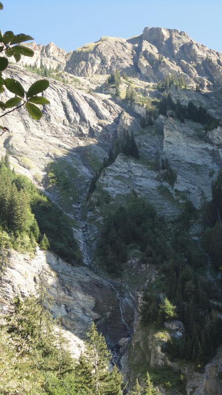 Einzuggebiet vom Glyssibach