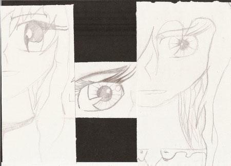 Visages et yeux de manga (1)