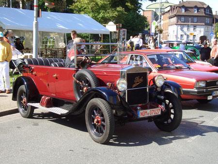 """Das älteste Fahrzeug: Fiat """"Torpedo"""" von 1922"""