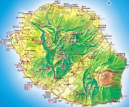 Et voici cette si belle Île intense à ST Pierre où j'ai grandi et où mes enfants y sont nés...
