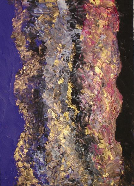 """""""union"""", Acrylic on canvas, 70 x 50 cm, price and availability on request, """"Vereinigung"""" Acryl auf Leinwand 70 x 50 cm Preis und Verfügbarkeit auf Anfrage"""