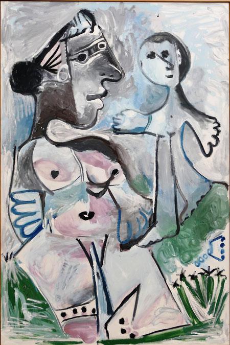 P. Picasso : Vénus et l'amour, 1967